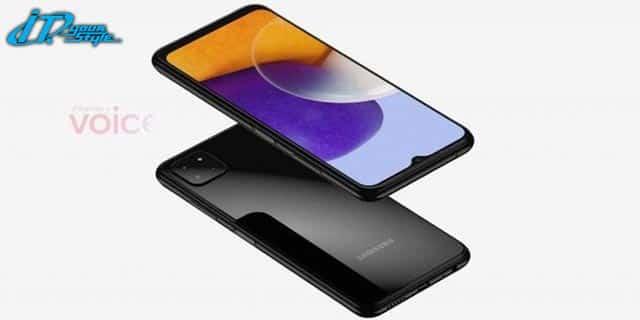 """ส่องภาพแรก """"เจ้า"""" Samsung galaxy A22 5 G มาคู่กับหน้าจอขนาด 6.5 นิ้ว กล้องหลัง 3"""