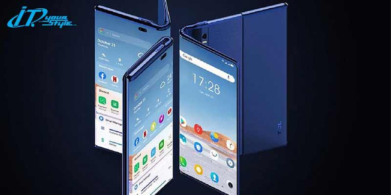 TCL แอบเปิดเผย Concept Phone Fold'roll แบบพับและแบบม้วนจอได้