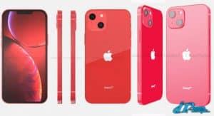 ภาพพรีวิว iPhome13 red product