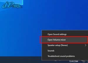Open Volume mixer